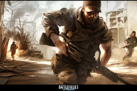 Battlefield 3 - Aftermath - Concept Art