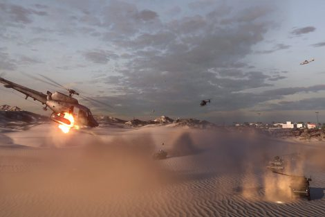 Battlefield 3 Armored Kill - Bandar Desert map - E3 screen 1