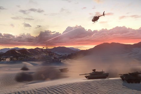 Battlefield 3 Armored Kill - Bandar Desert map - E3 screen 6
