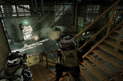 Battlefield 3 - Close Quarters - Scrap Metal map E3 Screen 4