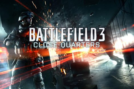 Battlefield 3 Close Quarters key art