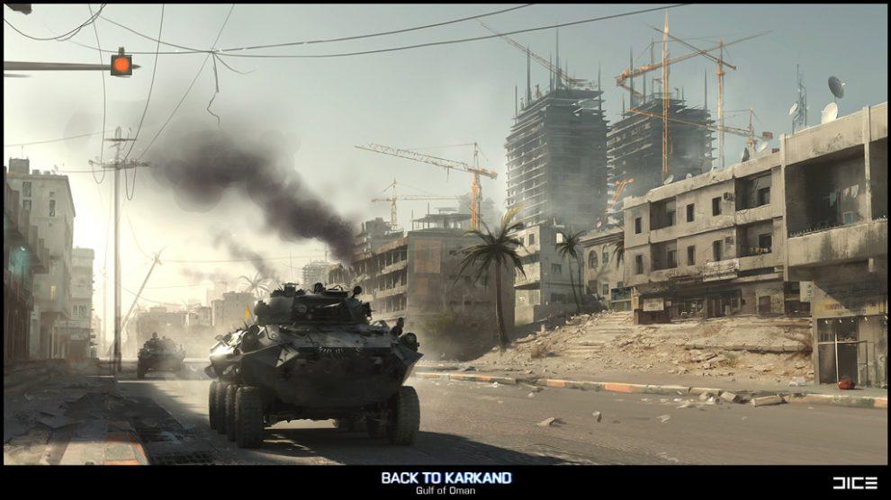 Battlefield 3 - Gulf of Oman