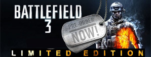 Battlefield 3 inkl. Dog Tag Pack &Spec Act Kit bei GamesOnly.at