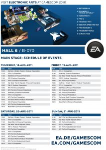 Electronic Arts - Gamescom 2011