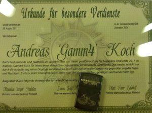 Urkunde und Battlefield Bad Company 2 Vietnam Zippo