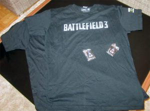 Battlefield 3 T-Shirt´s & Dogtags