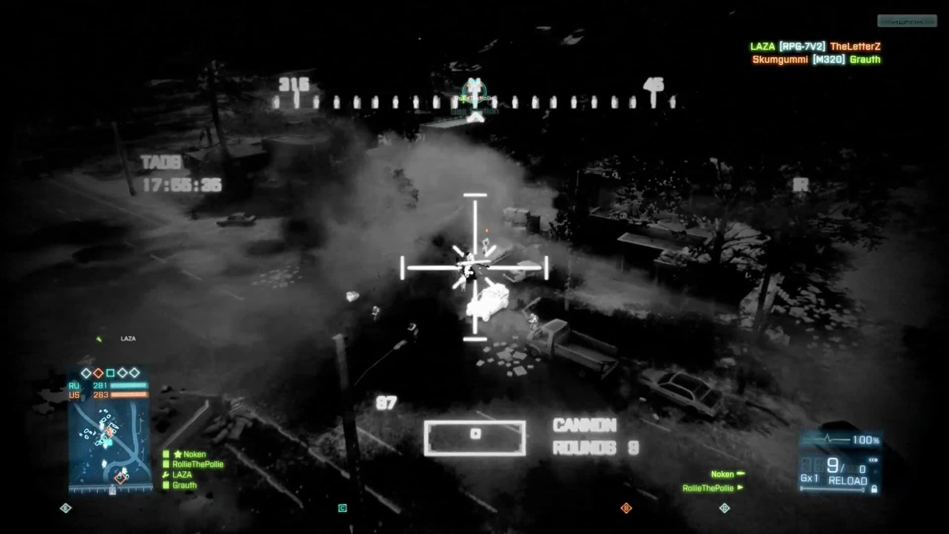 Battlefield 3 - Helikopter Wärmebildkamera