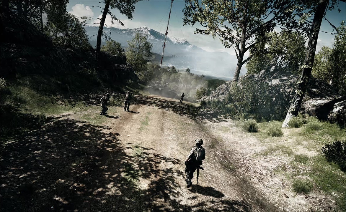 Battlefield 3 im PS Magazine  HD Screenshots  Betainfos und neue    Caspian Border Battlefield 4