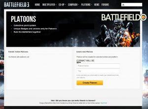 Battlefield 3 : Clan- und Gruppensupport mit dem Platoon