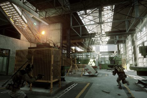 Battlefield 3 - Close Quarters - Scrap Metal map E3 Screen 5