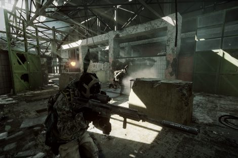 Battlefield 3 - Close Quarters - Scrap Metal map E3 Screen 6