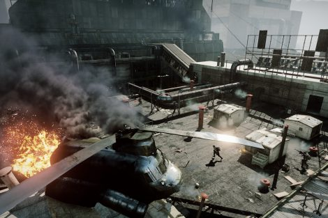 Battlefield 3 - Close Quarters - Scrap Metal map -  E3 Screen 7