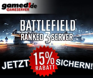 15% Rabatt auf alle Battlefield 3 Ranked Gameserver