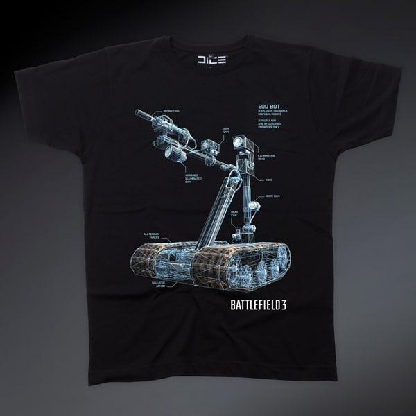 Battlefield 3 - EOD-Bot T-Shirt