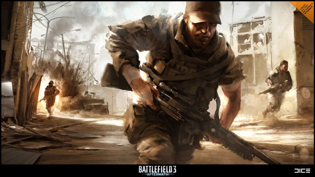 Battlefield 3:Aftermath Concept Art