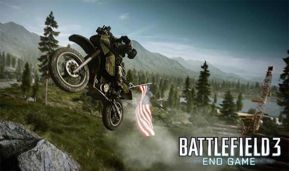 Wenn du dir die Flagge geschnappt hast, ist das Dirt Bike die beste Wahl für eine schnelle Flucht.