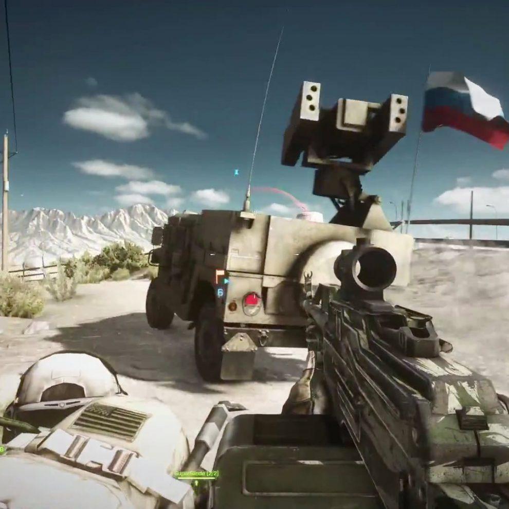 Battlefield 3 End Game Der M1097 Avenger (1)
