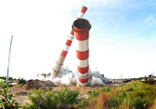 Florida Plant Implosion