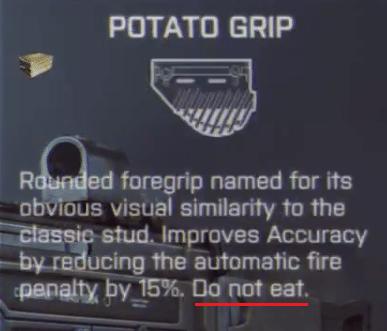 Potatoe-Griff
