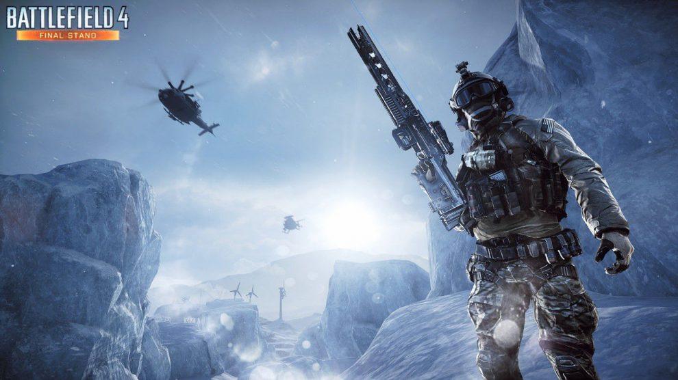 Dieses Mal dominieren Eis und Schnee das Battlefield. Achte auf die Schneestürme auf Arktis.