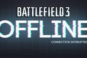 Battlefield 3 Wartungsarbeiten