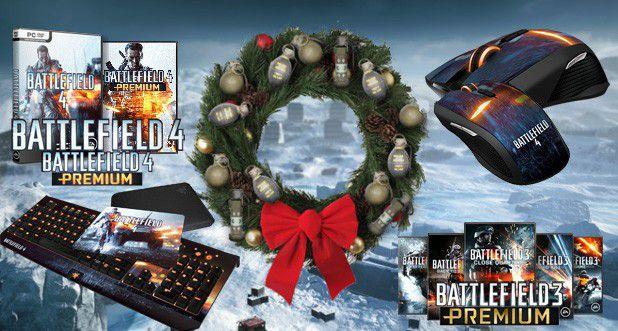 Preise des Battlefield-Inside.de X-Mas Gewinnspiels