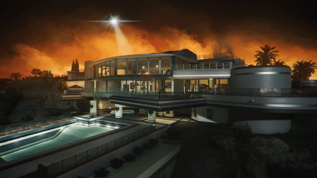 Battlefield Hardline, Multiplayer Map: Hollywood Hills