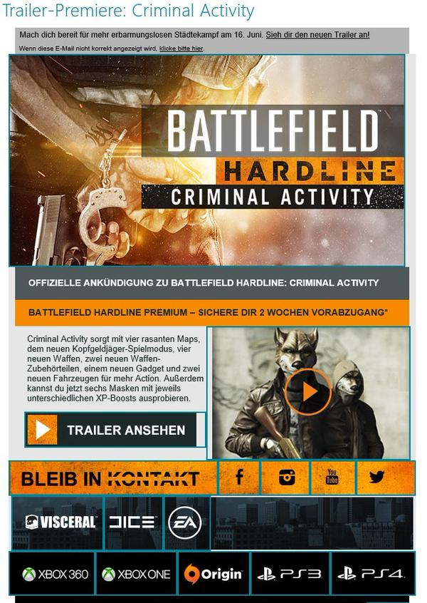 The Battlefield Hardline release date is October 21st 2014 March 17th ...