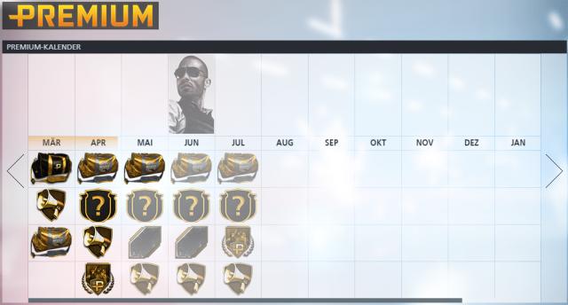 Battlefield Hardline Premium-Kalender