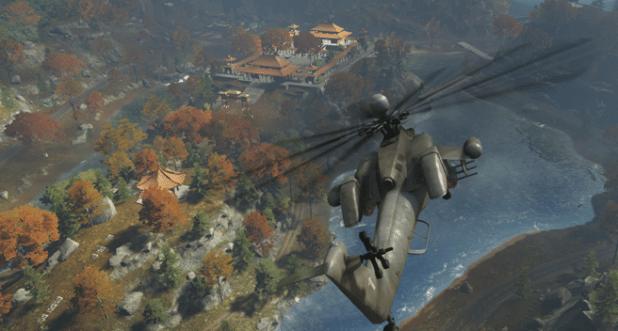 Aktueller Blick von oben auf das Remake von Dragon Valley