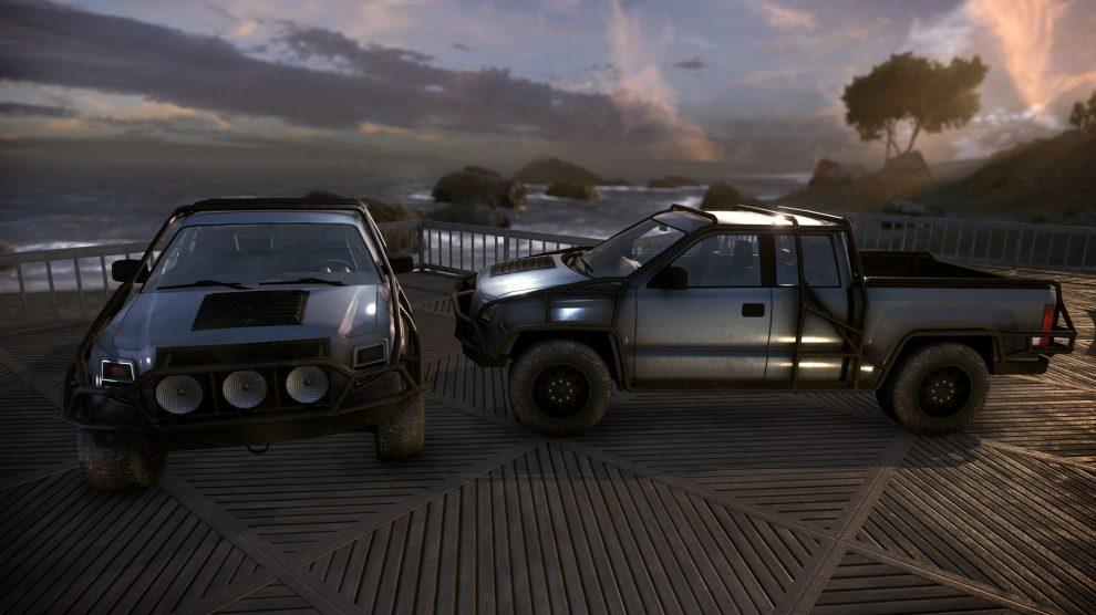 Fraktions-Pickup-Truck