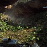 Laufe durch das Loch / die Höhle