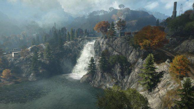 Wasserfall aus Dragon Valley 2015 für Battlefield 4