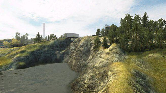 Wasserfall aus Dragon Valley für Battlefield 2