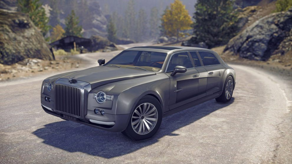Limo - Dieses raffinierte, luxuriöse Fahrzeug ist die reinste Festung auf Rädern. Es ist (wenn man mal von den Geschützbefestigungen absieht) eine gute Alternative zum SUV.