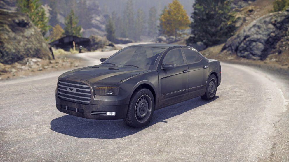 Sportlimousine - Eine leistungsstarke Limousine, die die Robustheit und die Panzerung eines Transportfahrzeugs mit dem Tempo und der Beweglichkeit eines Coupés kombiniert.