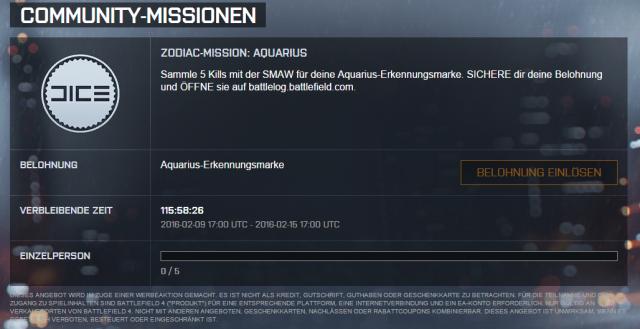 ZODIAC-MISSION AQUARIUS