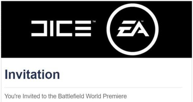 Einladung zur Battlefield Welt Premiere
