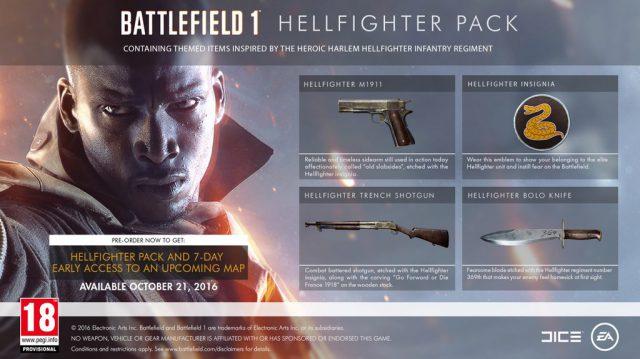 Das Battlefield 1 Hellfighter-Pack und seine Inhalte