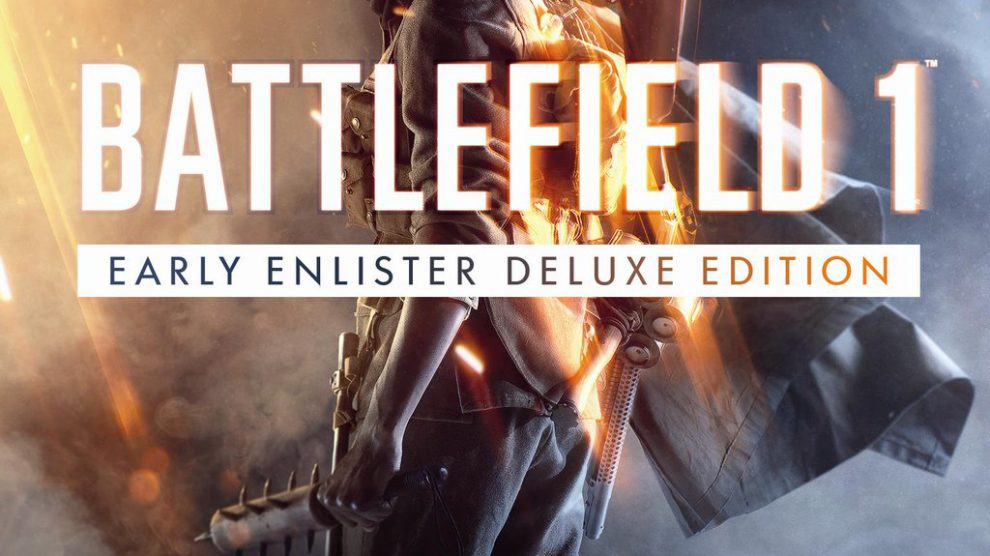 Packshot - Battlefield 1 Early Enlister Deluxe Edition