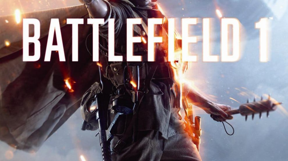 Packshot - Battlefield 1 Standard Edition