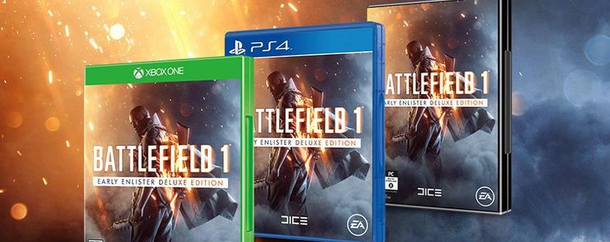 Battlefield 1: Versionen und Vorbestellerboni