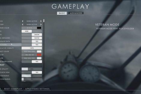 Battlefield 1 Gameplay Optionen