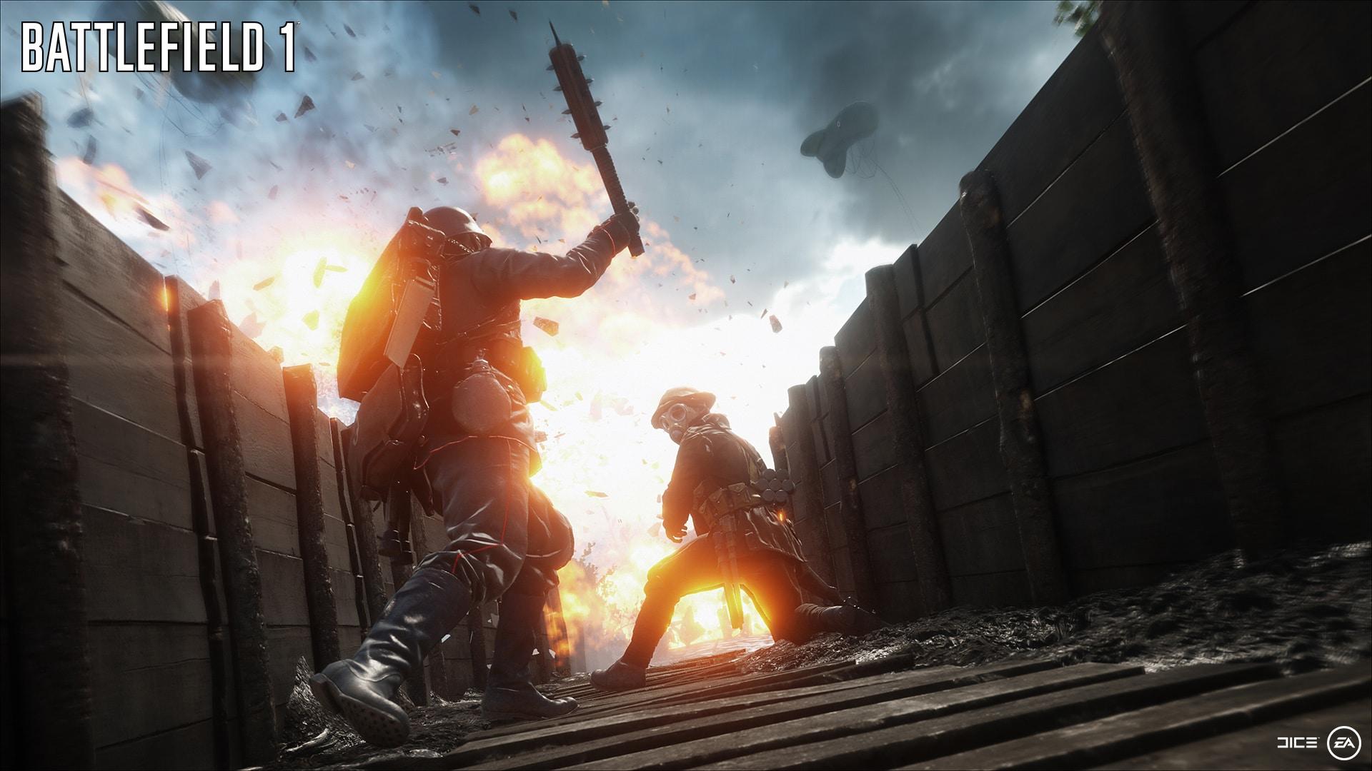 Neuer Battlefield 1 Screenshot -Trench Warfare