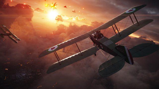 Battlefield 1 Airplane Wallpaper