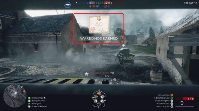 War Bonds - Die Battlefield 1 Ingame Währung um Dinge freizuschalten