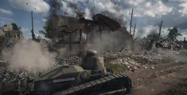 Battlefield 1 hat eine beeindruckende Zerstörung.