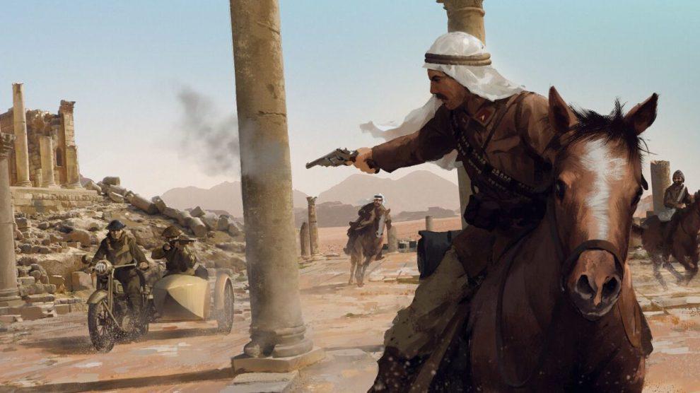 Battlefield 1 - Wüstenmap wird auf der Gamescom vorgestellt.