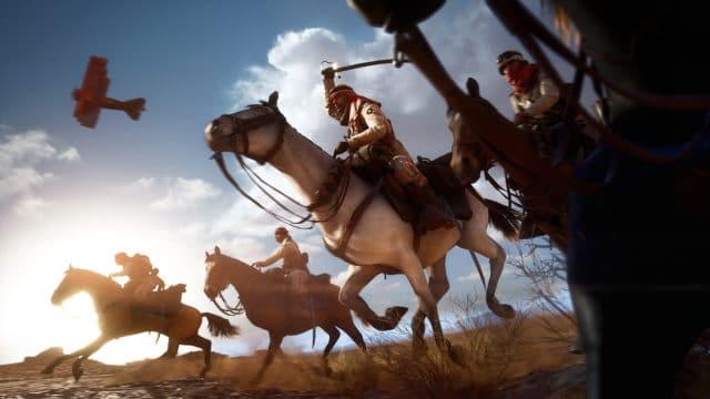 """Pferde in Battlefield 1 verhalten sich nicht wie Fahrzeuge und haben einen eigenen """"Charakter"""""""