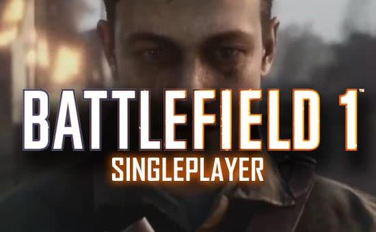 Battlefield 1 Singleplayer Trailer